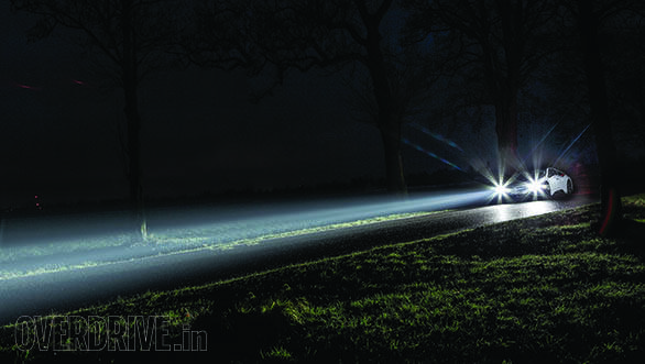 Bmw Ties Up With Osram For Laser Light Headlamps In The I8 Overdrive