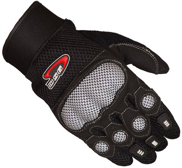 DSG Motomesh Gloves Black