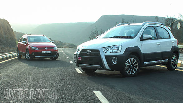 2014 Toyota Etios Cross vs Volkswagen Cross Polo