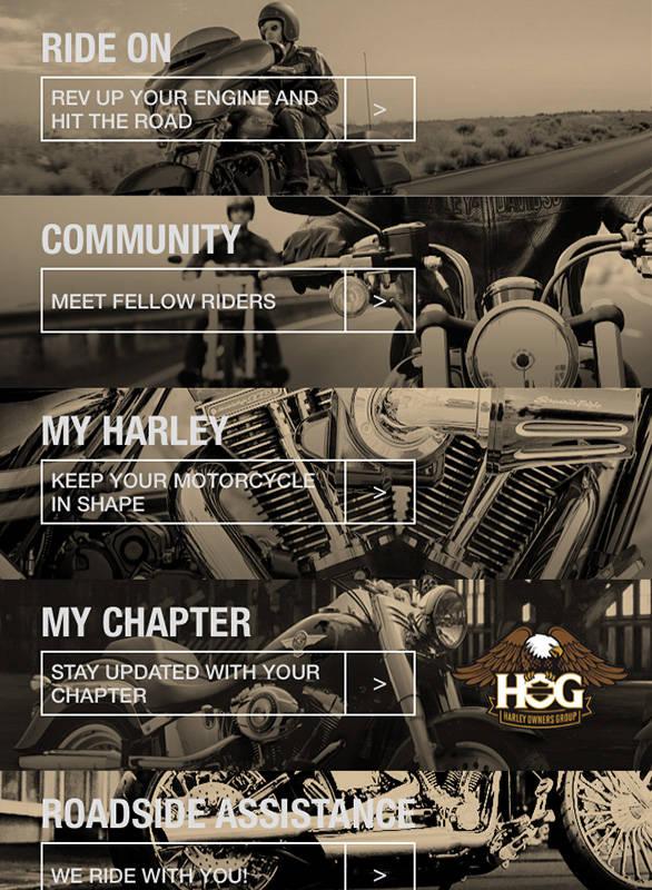 Harley-app