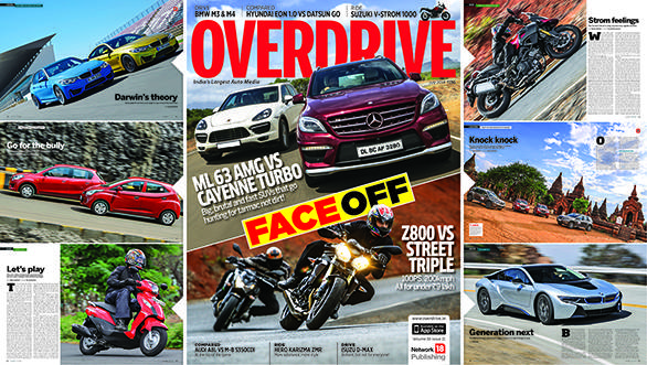 OVERDRIVE July 2014 issue out on stands now