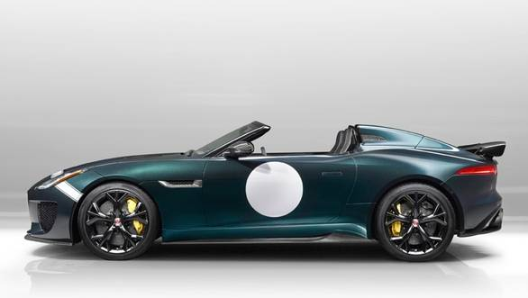 The SVO will produce only 250 units of the Jaguar F-type Project 7