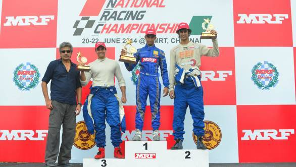 National Racing Championship Round 2: Tarun Reddy dominates MRF FF1600 races