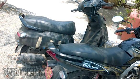 Mahindra 110cc scooter