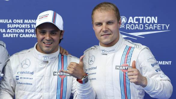 F1 2014: Massa takes shock pole for Williams at Austria