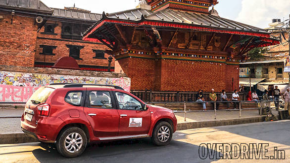 It was quieter than usual near the Pashupatinath temple, allowing us to leisurely take in the gorgeous pagoda-inspired architecture of the city