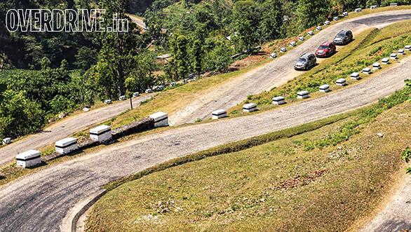 We drive along the Indo-Nepal highway as we head towards Kathmandu
