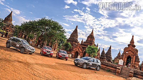The temple ruins of Bagan make for the perfect backdrop