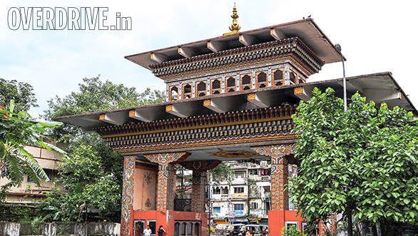 Pass through the colourful archway that stands between India and Bhutan and you enter a whole new world