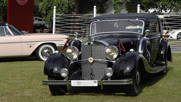 Mercedes 500 K CC 1953