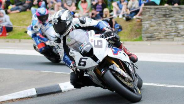 Blue riband event at the terrifying Isle of Man TT races plays into the throttle-wrenching hands of Michael Dunlop