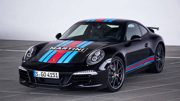 Porsche celebrates Le Mans return with 911 'Martini Racing Edition'