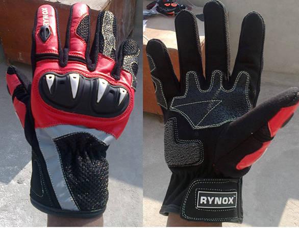 Rynox Rampage gloves
