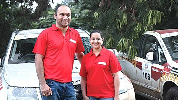 Satish and Savera win Round 1 of the National TSD Rally Championship