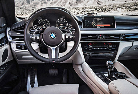 The BMW-themed interiors look refreshed, with superior quality and build, but resemble those of the X5
