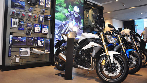 Triumph heads north with a dealership in Delhi