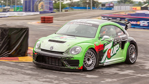 Volkswagen unveils new Beetle GRC for Global Rallycross