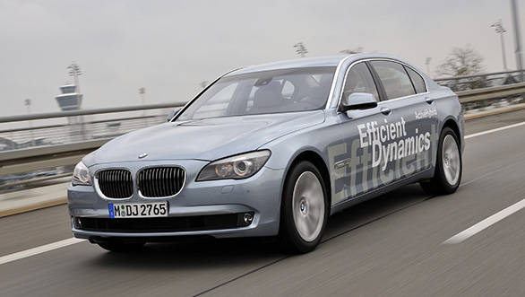 BMW 7 Series ActiveHybrid to be launched in India on July 23