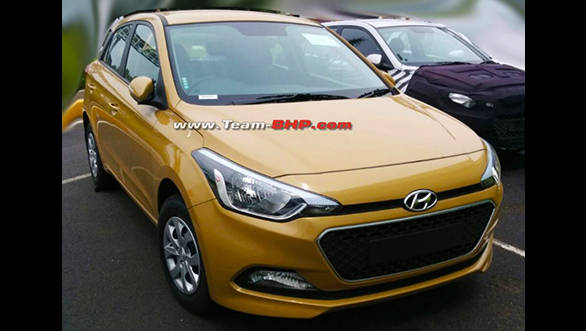 Spied: 2015 Hyundai i20 testing in India, sans camouflage