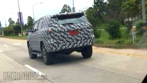 World exclusive: 2016 Toyota Fortuner spied testing