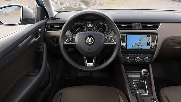 The interiors get different fabrics and Scout badging