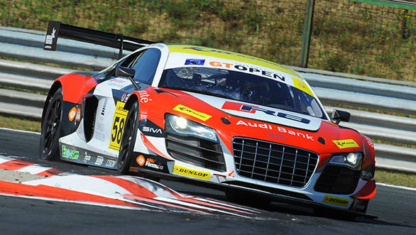 Fifth and sixth place finishes for Aditya Patel at the International GT Open at Hungaroring