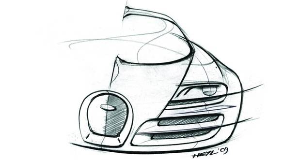Bugatti Veyron Super Sport Sketch