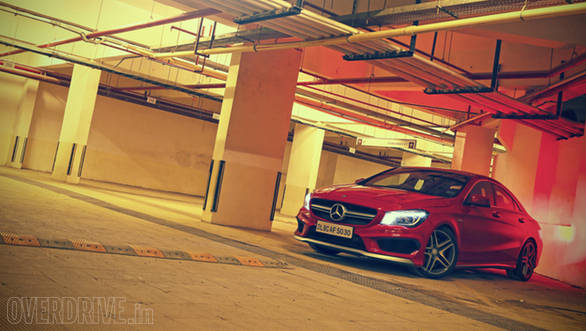 2014 Mercedes-Benz CLA 45 AMG India image gallery