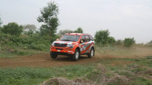 Gaurav Gill's chances of three wins of three rallies seem to be unlikely