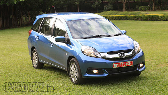 2014 Honda Mobilio India First Drive Overdrive