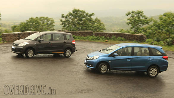 First impressions: Honda Mobilio diesel vs Maruti Suzuki Ertiga ZDi in India