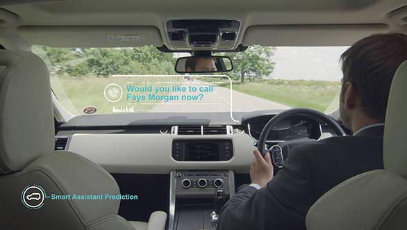 Jaguar self-learning car 2