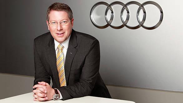 Joe King, Head, Audi India -