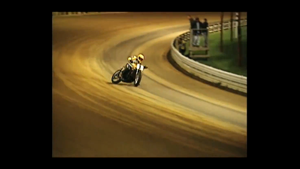 Video worth watching: Kenny Roberts at the Indy Mile on the Yamaha TZ750. Again
