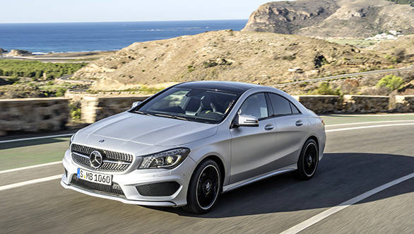 2015 Mercedes-Benz CLA to be launched in India on January 22