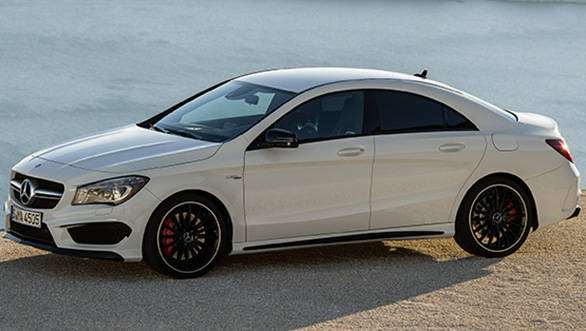 2014 Mercedes-Benz CLA 45 AMG to be launched in India on July 22