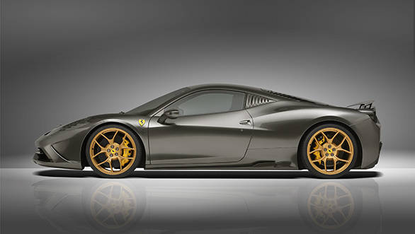 Forged wheels, carbon trim and more power for the 599 Speciale