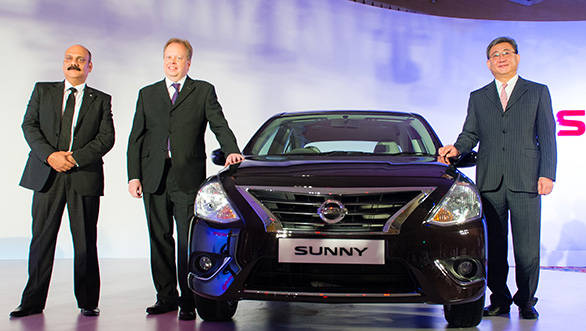 2014 Nissan Sunny launched in India at Rs 7.29 lakh ex-Mumbai
