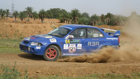 A podium in PG Abhilash's second rally after his comeback