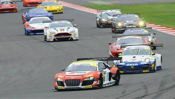 International GT Open: Third place for Aditya Patel at Silverstone