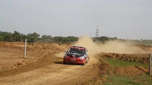 Win in the 2000cc category went to Team Yokohama's Rahul Kantharaj
