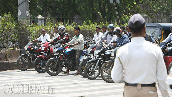 Pay double fine to traffic officials and avoid appearing in front of court