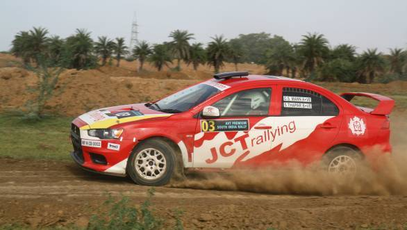 IRC 2014: Samir Thapar wins South India Rally