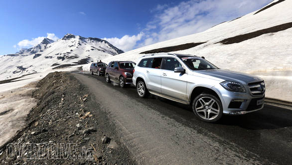 We circumvented the traffic and crossed Rohtang pass