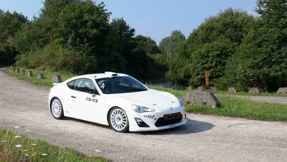 WRC 2014: Toyota GT86 CS-R3 will be seen at Rallye Deutschland
