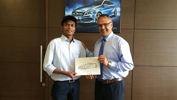 Vatsal Patel Mercedes plant tour
