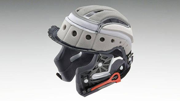 helmet interior or comfort layer 2