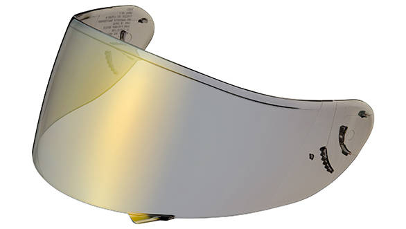 Helmet visors have to optically correct and protect your eyes and face from flying debris too. Look for VESC-8 compliance - these are tested to be nearly shatter proof and give you that extra protection