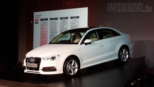 Audi A Sedan Launched In India With Prices Starting At Rs - Audi car series
