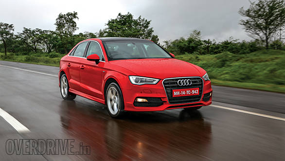2014 Audi A3 sedan diesel India road test